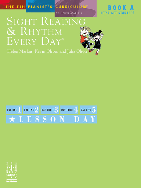 Sight Reading & Rhythm Every Day!, Let's Get Started, Book A