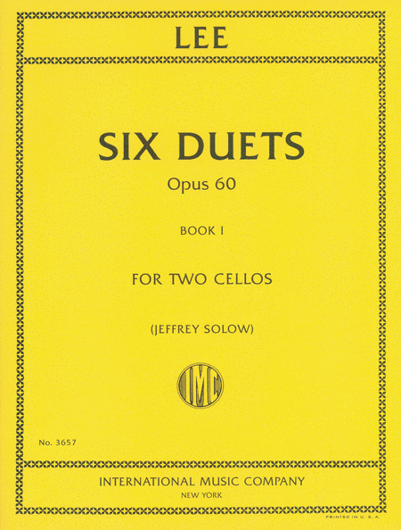 Six Duets, Opus 60, Book I