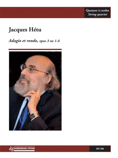 Adagio et rondo pour quatuor a cordes, opus 3 no 1-A