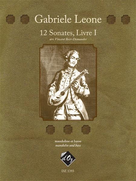 12 Sonates, Livre I