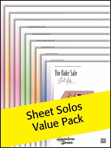 Alfred's Sheet Solos Sheets 1-10 2012 (Value Pack)