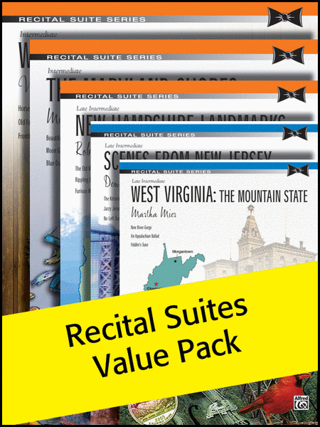 Alfred's Recital Suites 2012 (Value Pack)