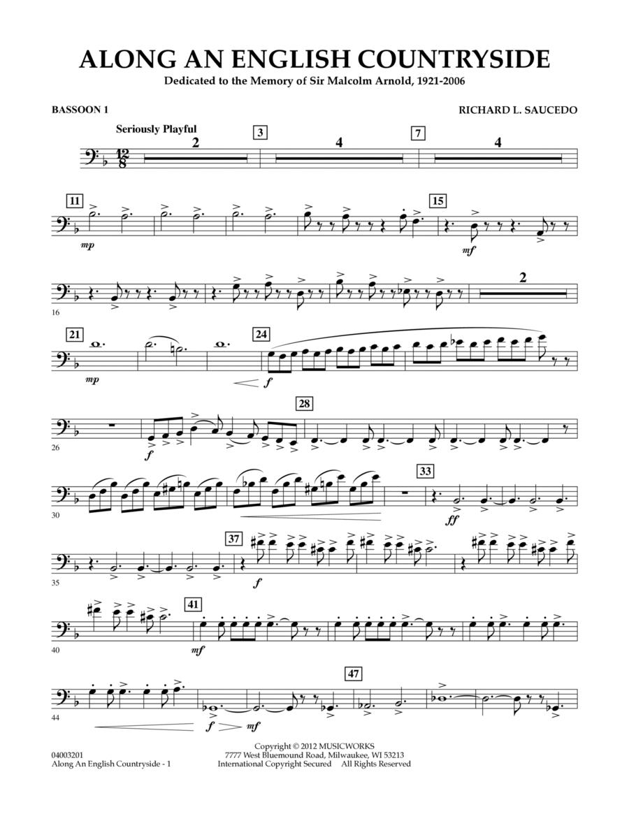 Along an English Countryside - Bassoon 1