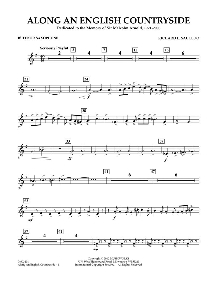 Along an English Countryside - Bb Tenor Saxophone