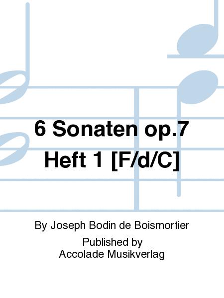 6 Sonaten op.7 Heft 1 [F/d/C]