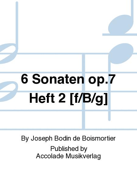 6 Sonaten op.7 Heft 2 [f/B/g]