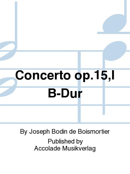 Concerto op.15,I B-Dur