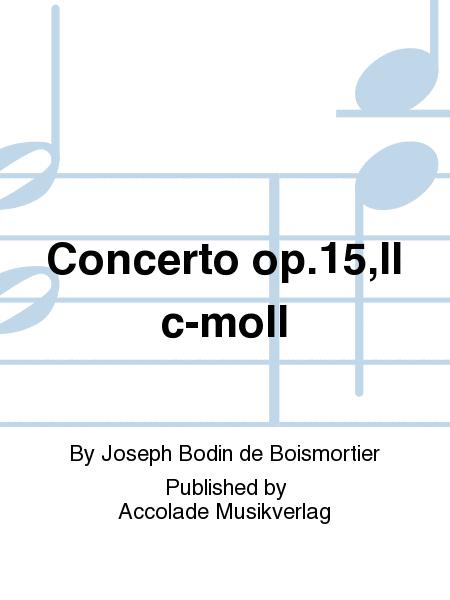 Concerto op.15,II c-moll