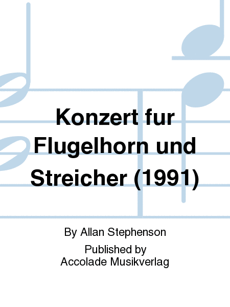 Konzert fur Flugelhorn und Streicher (1991)