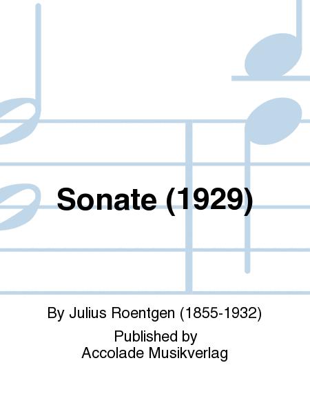 Sonate (1929)