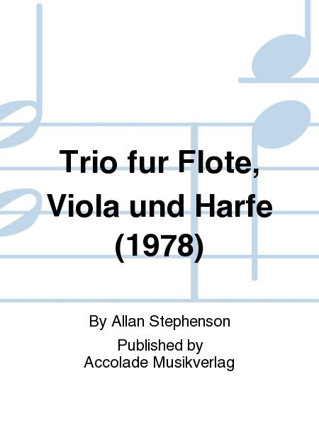 Trio fur Flote, Viola und Harfe (1978)