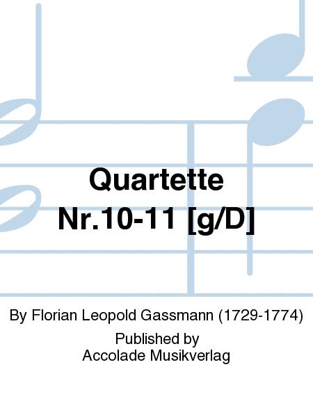 Quartette Nr.10-11 [g/D]