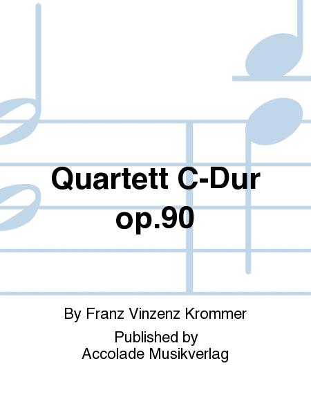Quartett C-Dur op.90