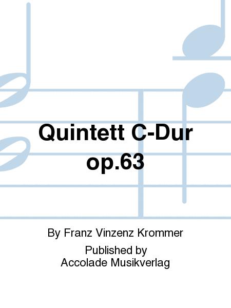 Quintett C-Dur op.63