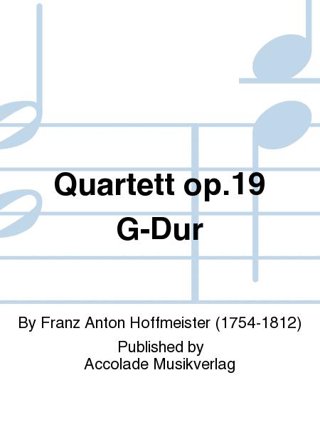 Quartett op.19 G-Dur