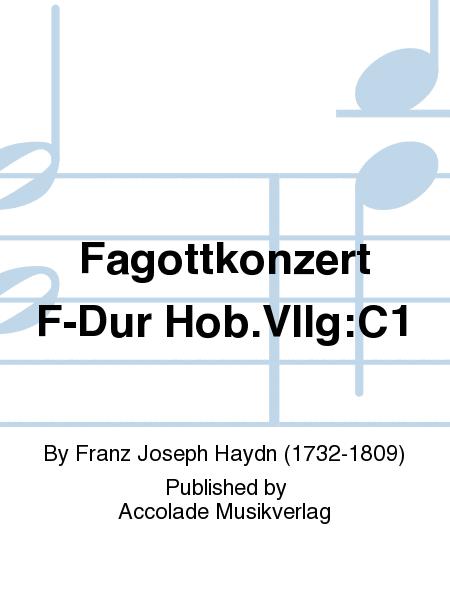 Fagottkonzert F-Dur Hob.VIIg:C1