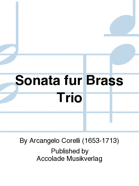 Sonata fur Brass Trio