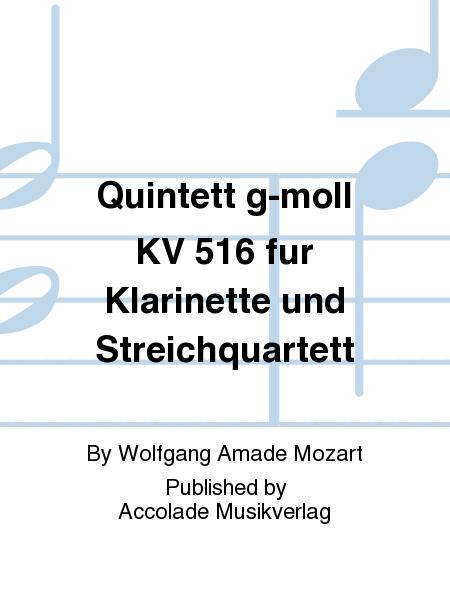 Quintett g-moll KV 516 fur Klarinette und Streichquartett