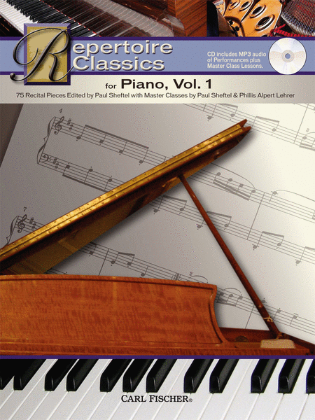 Repertoire Classics for Piano, Vol. 1
