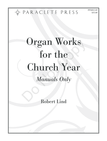 Organ Works for the Church Year