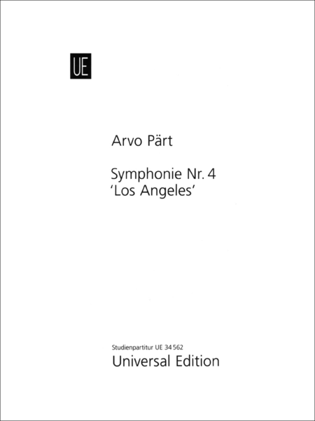 Symphony No.4 'Los Angeles'