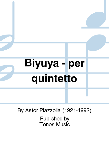 Biyuya - per quintetto