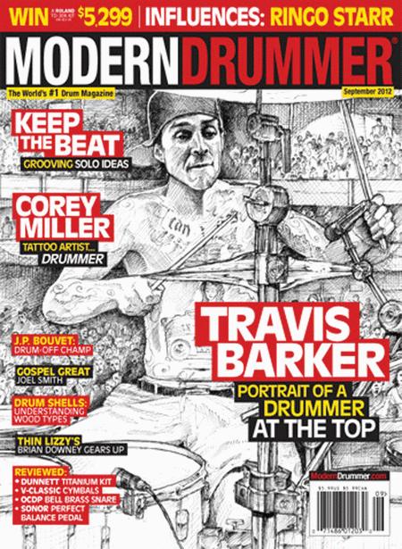 Modern Drummer Magazine - September 2012 Issue