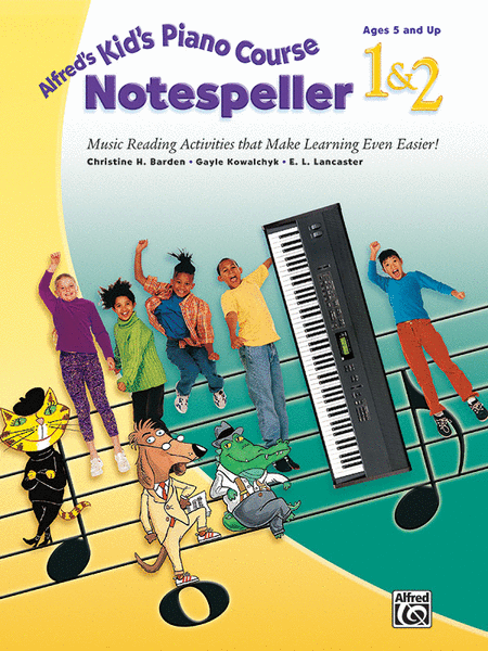 Alfred's Kid's Piano Course Notespeller, Book 1 & 2