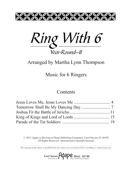 Ring With 6: Year-Round II