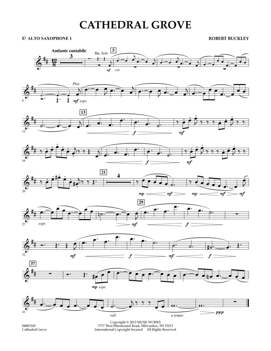 Cathedral Grove - Eb Alto Saxophone 1
