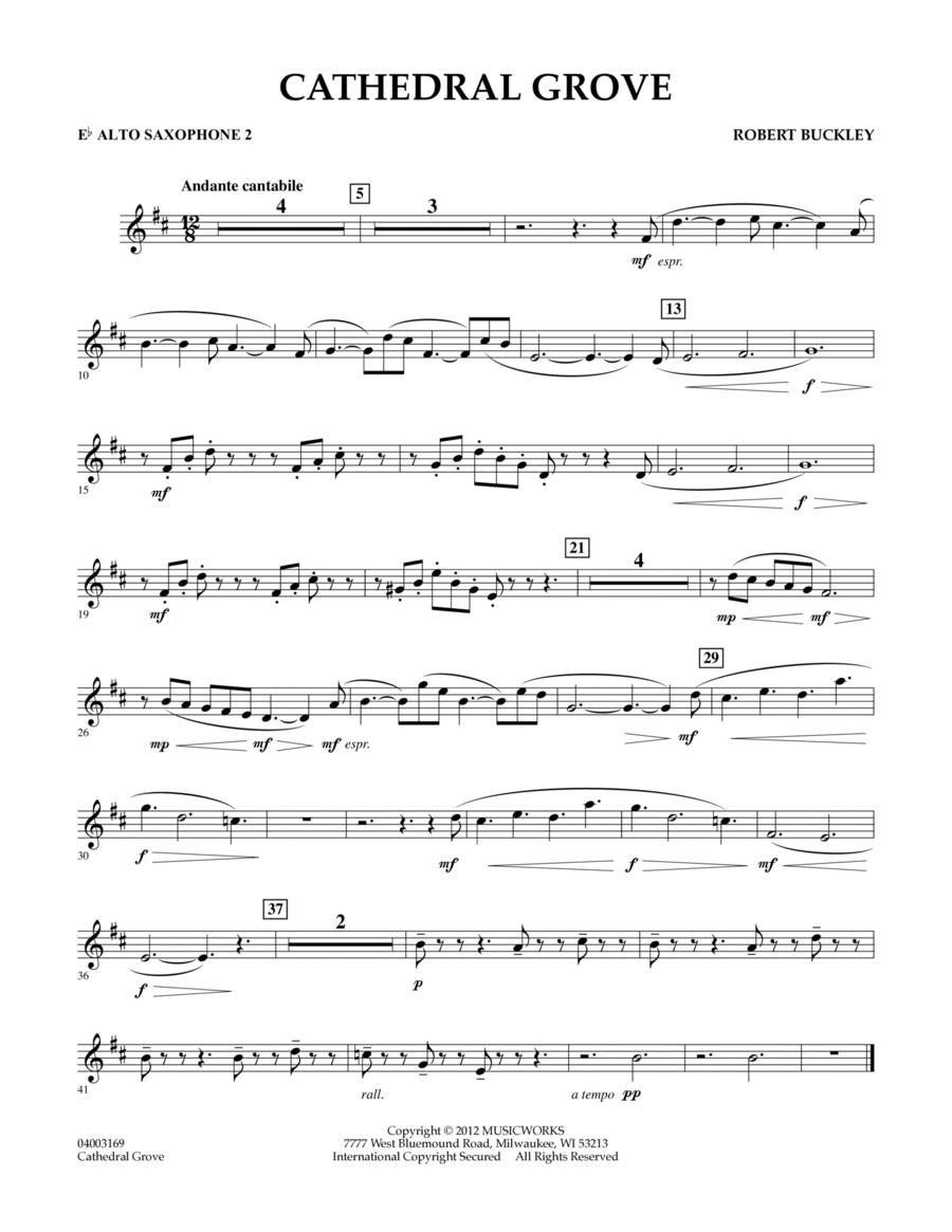 Cathedral Grove - Eb Alto Saxophone 2