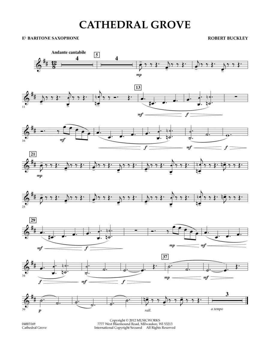 Cathedral Grove - Eb Baritone Saxophone
