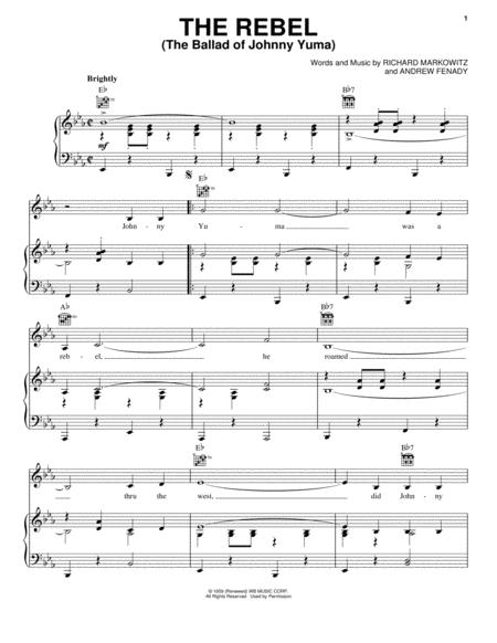 The Rebel (The Ballad Of Johnny Yuma)