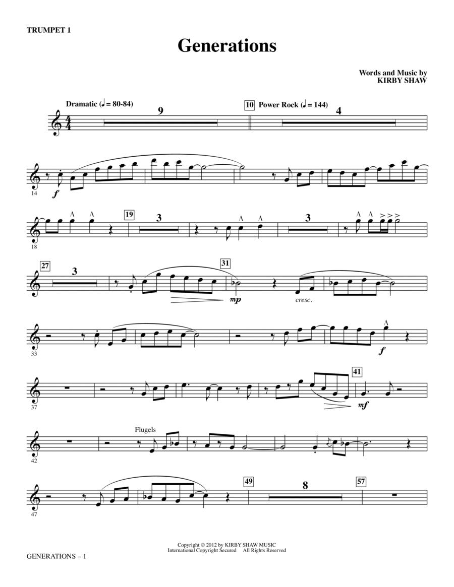 Generations - Trumpet 1