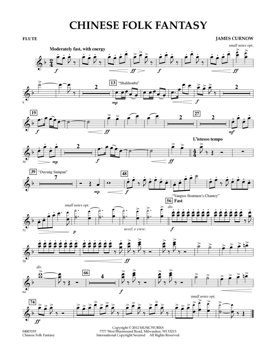 Chinese Folk Fantasy - Flute