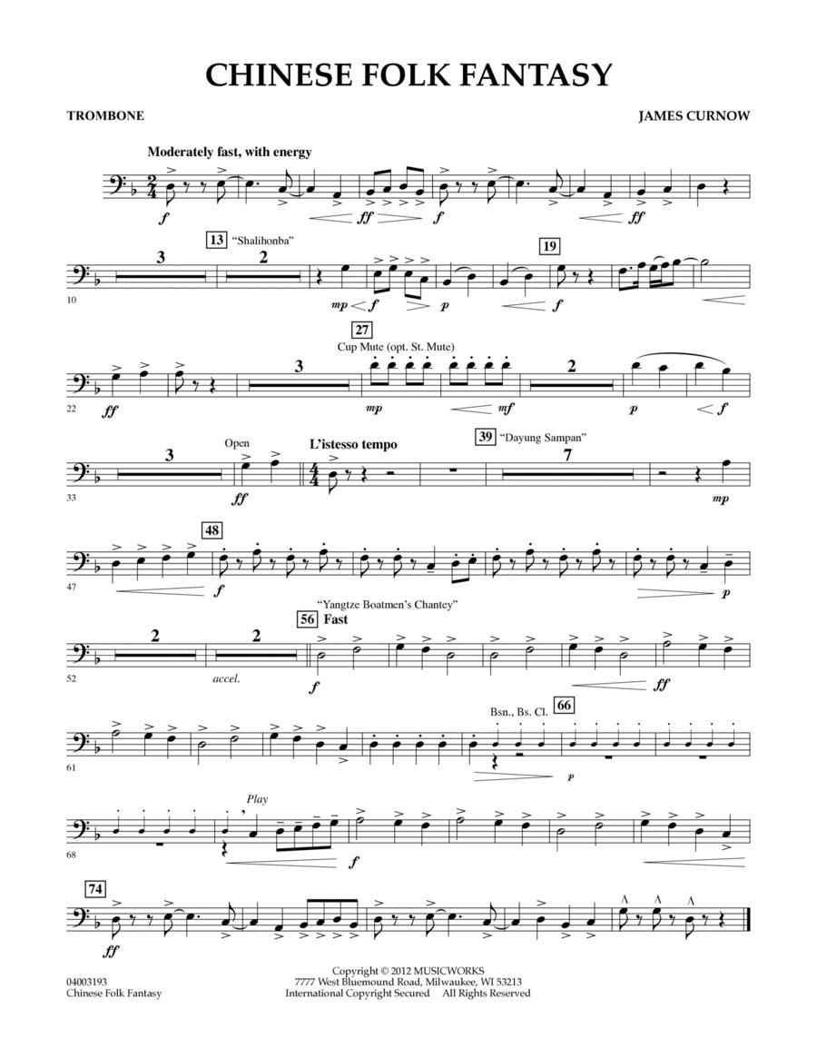 Chinese Folk Fantasy - Trombone