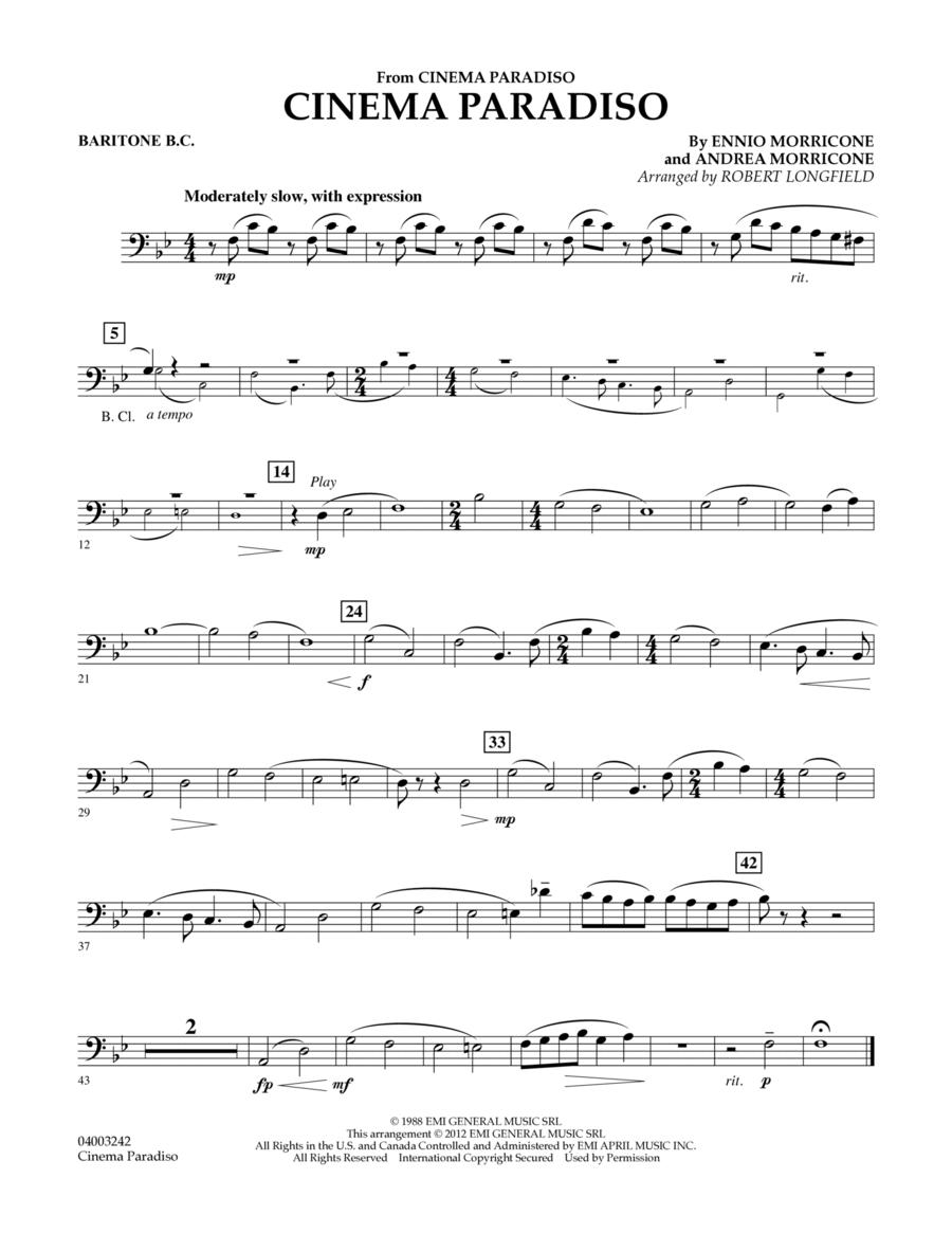 Cinema Paradiso (Flexible Solo with Band) - Baritone B.C.