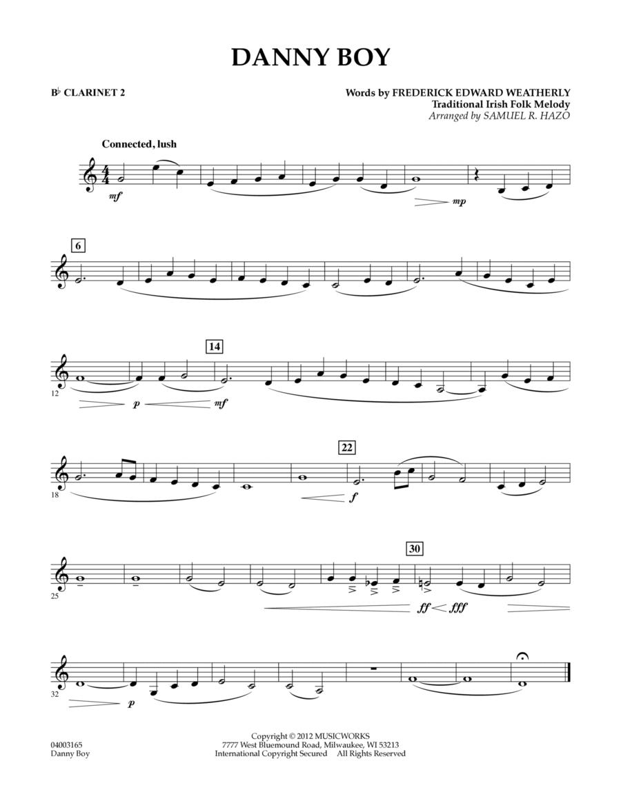Danny Boy - Bb Clarinet 2