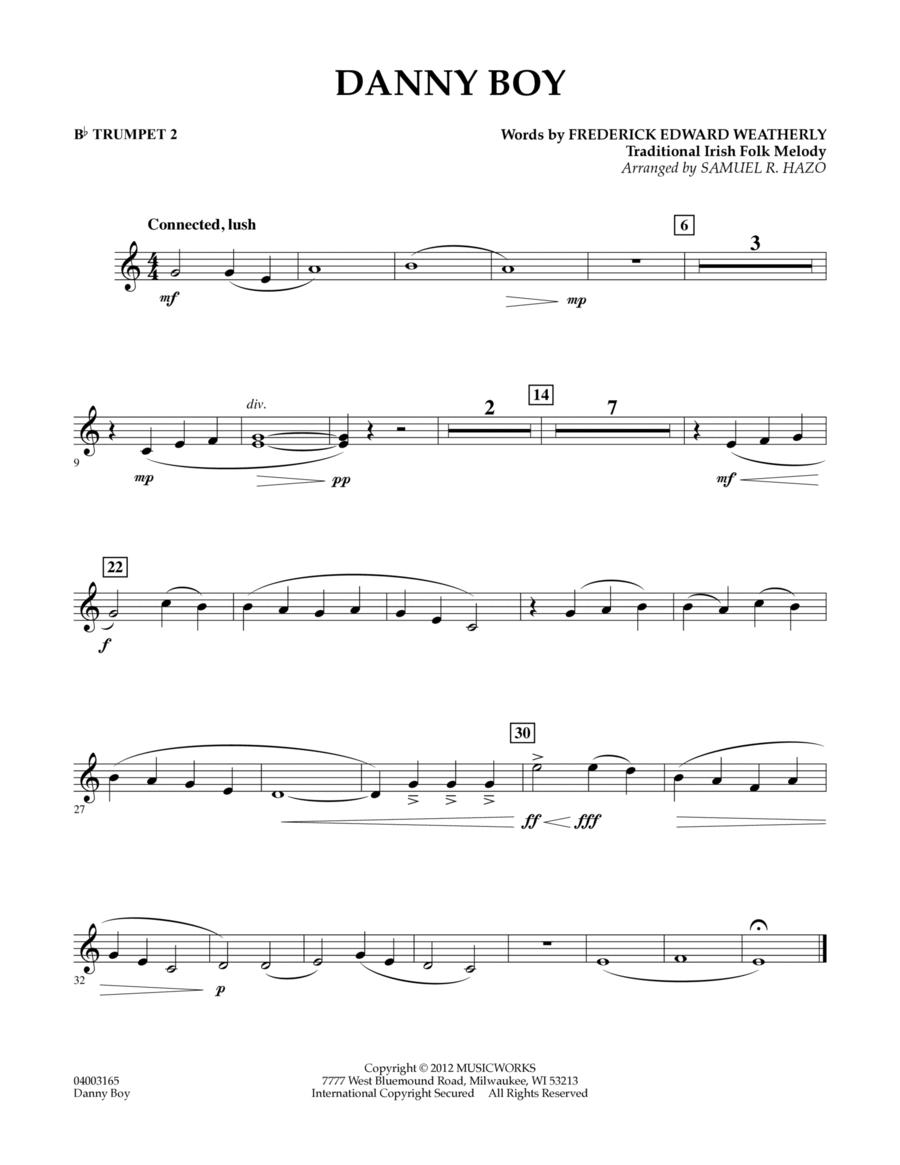 Danny Boy - Bb Trumpet 2
