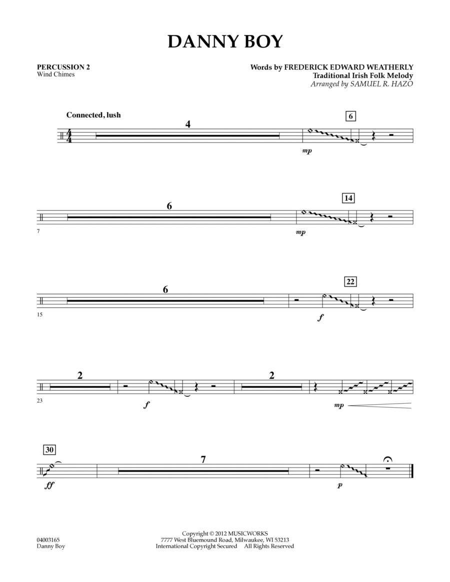Danny Boy - Percussion 2