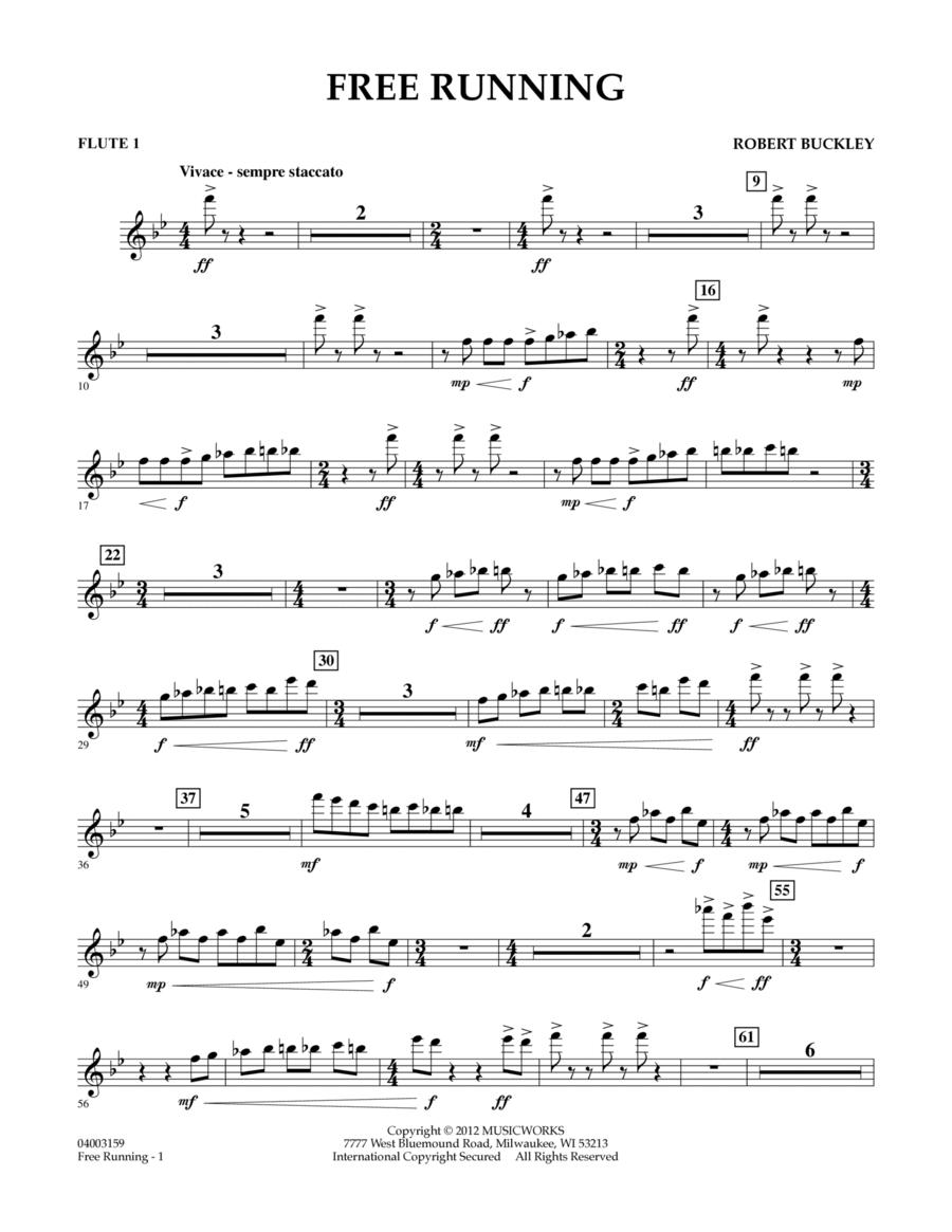 Free Running - Flute 1