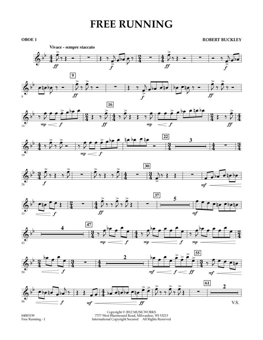 Free Running - Oboe 1