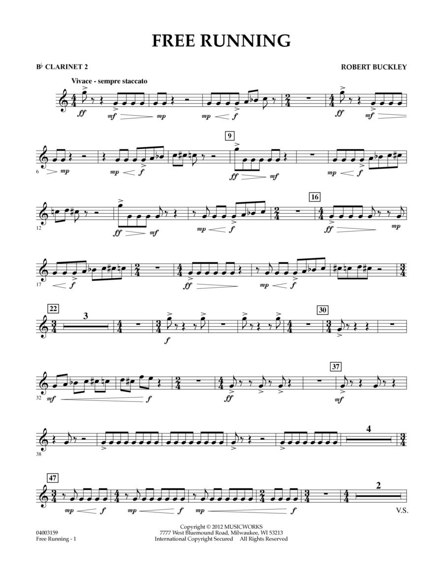 Free Running - Bb Clarinet 2