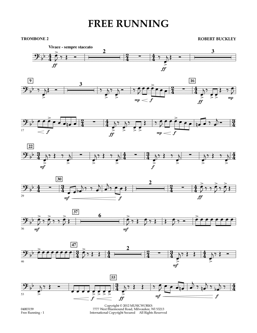 Free Running - Trombone 2