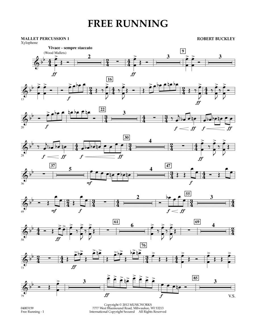Free Running - Mallet Percussion 1