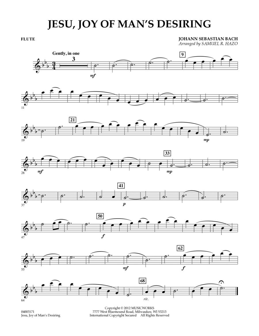 Jesu, Joy Of Man's Desiring - Flute