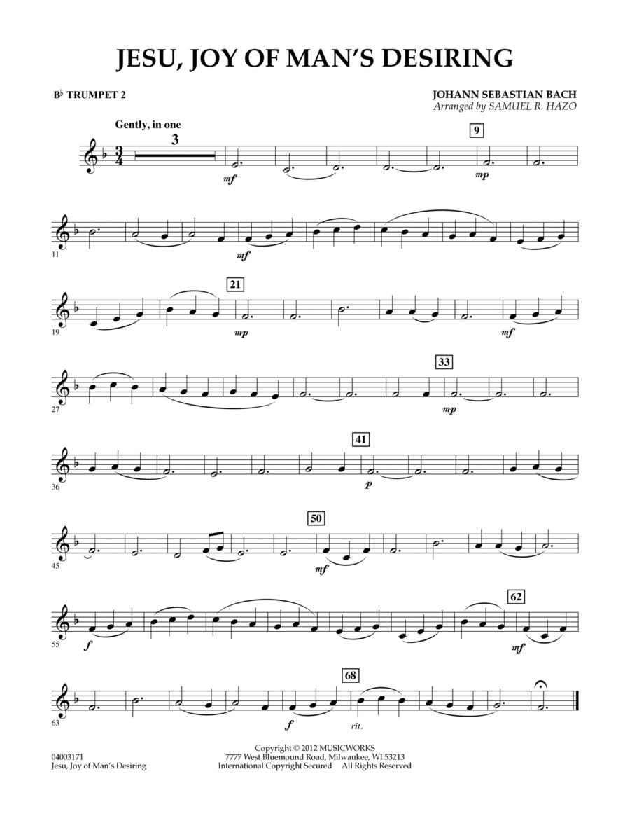 Jesu, Joy Of Man's Desiring - Bb Trumpet 2