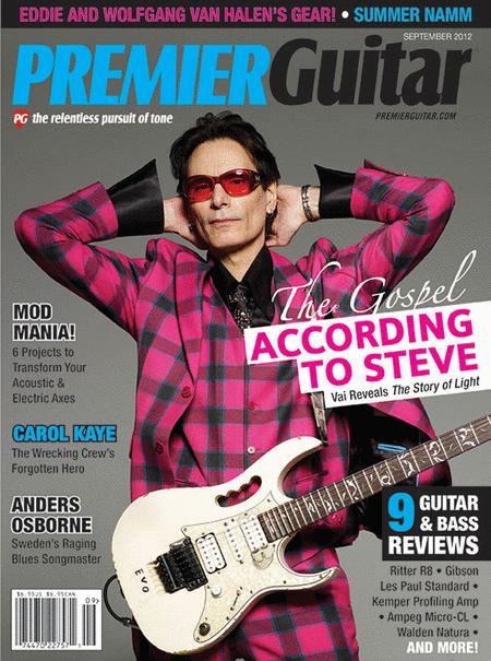Premier Guitar Magazine - September 2012