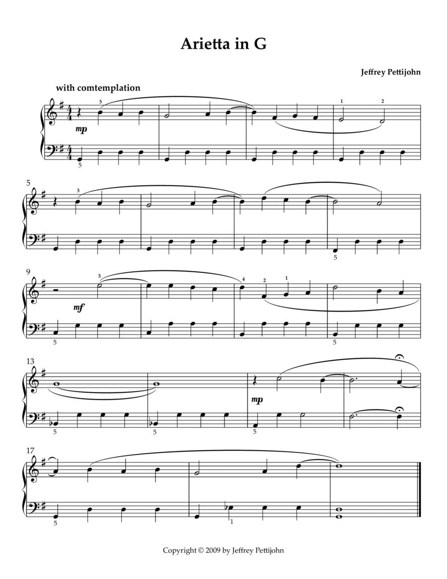 Arietta in G
