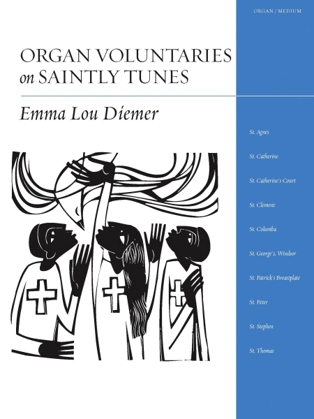 Organ Voluntaries on Saintly Tunes
